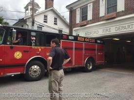 E-109 responded to Katonah on a gas emergency.